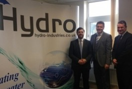 News Image: Hydro Industries announces £20 million contract during visit by Welsh Secretary